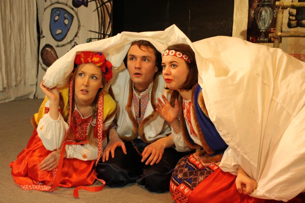 Ряженые или вечера на хуторе (Театр). Театр