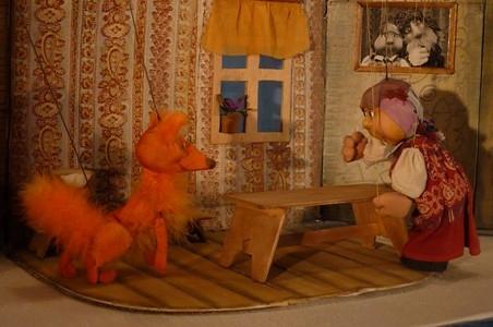 Лисичка-сестричка и Волк. Театр