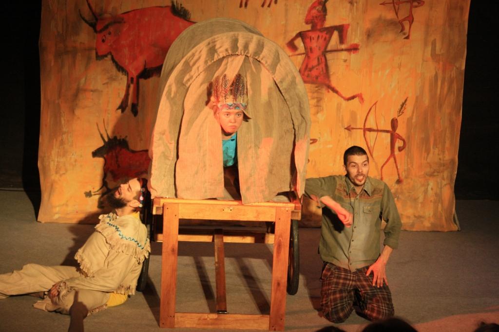 Вождь краснокожих (Детские). Театр