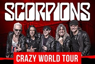 The Scorpions – Crazy World Tour (Концерты и шоу). КРК