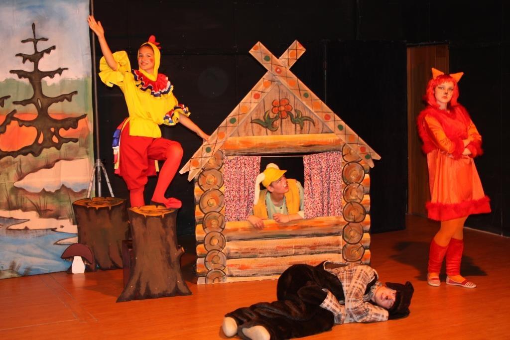 Сказка про зайца и лису (Детские). Театр